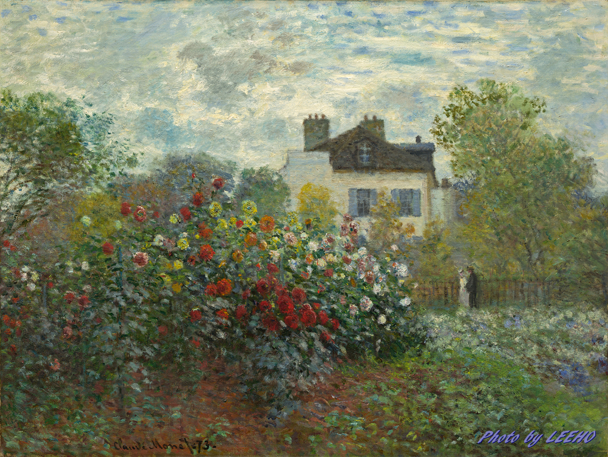 Claude Monet - The Artist's Garden in Argenteuil (A Corner of the Garden with Dahlias).jpg